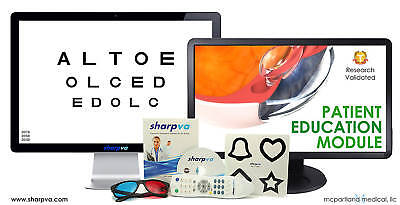 Visual Acuity Software Wremote Optometry Ophthalmology