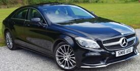 Mercedes CLS 220d AMG Premium Edition. .low miles
