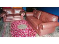 Three and two seater sofas