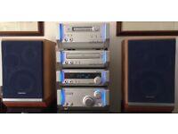 Technics SC-HD505MD Bi-amp /. Bi-wired speakers