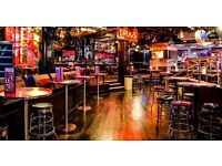 Bus boys and runners needed for The Roadhouse, Covent Garden OTE £350 plus / wk