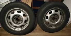 VW Golf 175/65R13 80T wheels with tyres