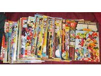 Job Lot Of Comics Over 30 Years Old From The Writers Of 2000AD Secret Wars, Dice Man, Crisis