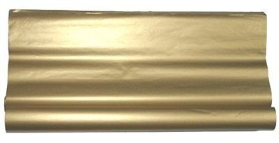 48 SHEETS~METALLIC GOLD TISSUE PAPER HI QUALITY GIFT WRAP~20x30""