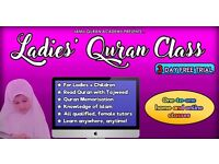 One- to- One Home & Online Quran Class with Tajweed with Female Teacher - Quran Tuition for Ladies