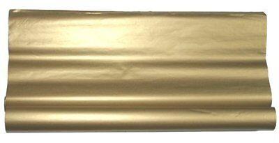 METALLIC GOLD TISSUE PAPER~GIFT WRAP~20x30~48 PREMIUM SHEETS~