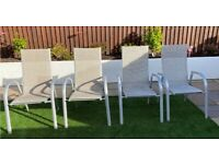 Set of 4 Kettler Outdoor Stacking Chairs