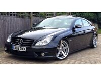 "Mercedes CLS 55 AMG Black Auto - Remapped - Lowered - 19"" inch alloys - Stanced"