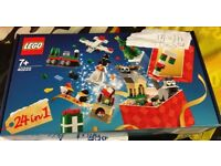 New and sealed 24in1 Lego Christmas sets