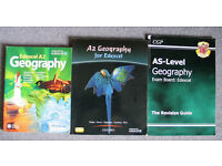 Geography AS and A2 Level text books