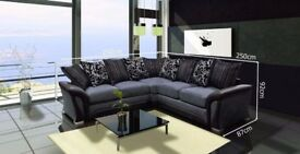 AVAILABLE FOR QUICK DELIVERY!!New SHANNON Corner Or 3 + 2 Sofa, SWIVEL CHAIRS, Universal corner Sofa
