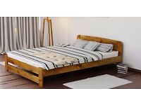 Solid Wood King Size Bed Frame £180 OBO