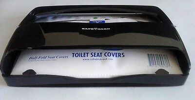 Safe-T-Gard 1/2 fold Toilet Seat Cover Dispenser w/Pack of Covers