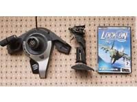Lock On: Modern Air Combat & Flight stick bundle