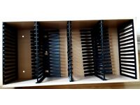 2 x Strand CD Storage Rack. Holds 60 CDs each.