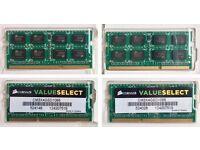 16Gb (4 x 4GB) 1066ghz Corsair memory for laptop or Mac