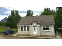 2 bedroom bungalow in the west coast of scotland stunning views ideal for fishing and hillwalkersers