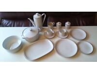Bone china / Porcelain Dinner service Made in Germany by Arzberg
