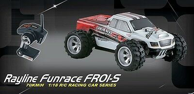 RC Auto Funrace 01S-C Pro 4x4 Allradantrieb 2.4GHz Car Buggy 70kmh In- & Outdoor