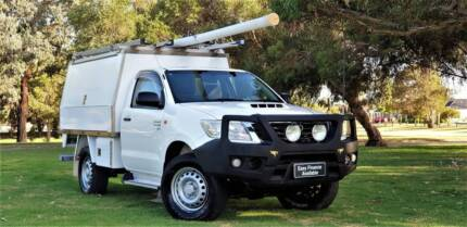 2014 Toyota Hilux SR Manual 4x4 MY14 Welshpool Canning Area Preview