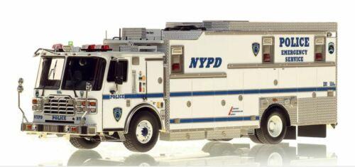NYPD Ferrara ESS 14 - HAZ-MAT COMMAND 1/50 Fire Replicas FR086-14 New