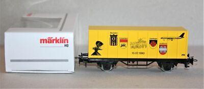 Märklin H0 Containerwagen Städtepartnerschaft Göppingen Geislingen, 1990