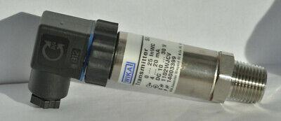 Wika Pressure Transmitter Sl-1  7223834 0-25inwc 4-20 Ma 1030 Vdc