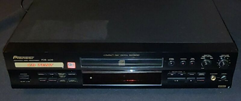Vtg Pioneer PDR-609 High End CD Recorder Japan 24bit Conversion Audio/Player