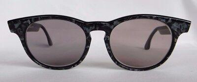 Alain Mikli Eyeglass Frames Hand Made Paris France Vintage Retro MOD 1989 Black