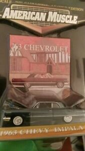 American muscle -Chevy Impala 1/64 -1963 Trade