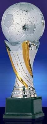 NEUHEIT Fußball Trophäe 28 cm Pokal Weltpokal