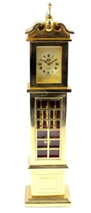 JCH Ornamental Brass Miniature Grandfather Clock Morley Bayswater Area Preview