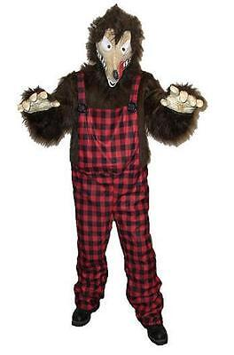 Men's Big Bad News Wolfie Wolf Animal Adult - Big Bad Wolf Costumes For Men
