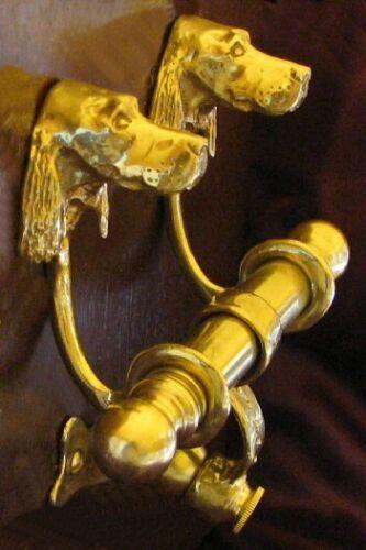 IRISH SETTER / GORDON SETTER Dog Bronze DUET Door Knocker