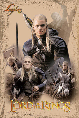 LORD OF THE RINGS TRILOGY LEGOLAS ORLANDO BLOOM POSTER NEW 22x34 FREE SHIPPING