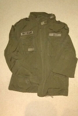 (Brandit® US Army M65 GIANT Military Warm Lining Field Mens Jacket - Olive 3XL)
