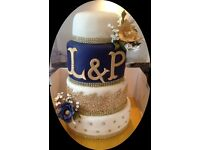 Cakes for All Occasions - Wedding - Birthday - Christening - Novelty Adult - From Just £30