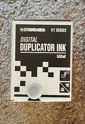 Standard Black Digital Duplicator Ink Vt Series 600ml Product Code 3303s