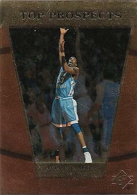4758be8be78 ANTAWN JAMISON 1998 Upper Deck card UNC North Carolina Tar Heels Basketball  NM