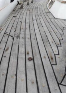 Wanted: Boat teak deck