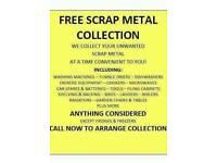 Scrap metal wanted