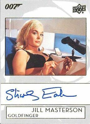 2019 James Bond Collection A-EA Shirley Eaton as Jill Masterson Autograph Card!