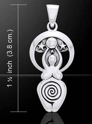 Moon Goddess Celestial Birthing Creation Midwife Jewelry Pendant Wzpd1007