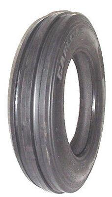2 New Carlisle 4.00-15 3-rib Front Tractor Tires Tubes