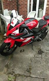 Yamaha YZF R125 Red 124cc