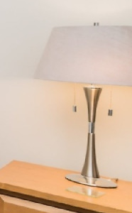 Table Lamps (3) + Floor Lamp (1) Including Lampshades