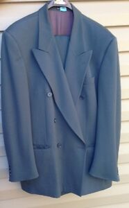 MEN'S SUIT, LIKE NEW, worn once, dry cleaned
