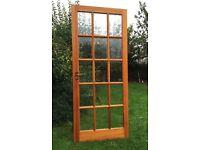 15 Clear Glazed Panel Wooden Internal Door
