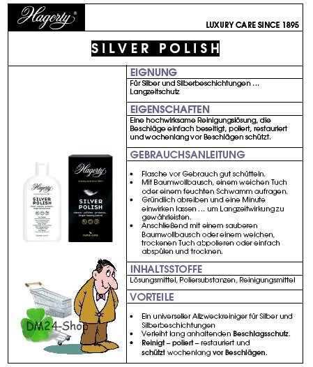 Datenblatt Silver Polish