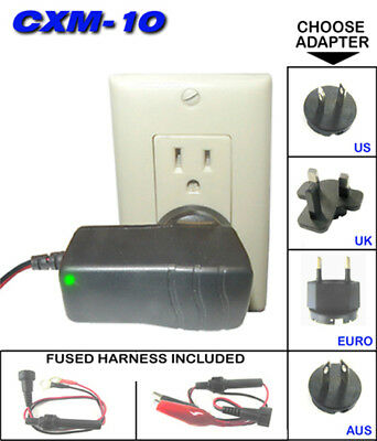 ChargeX Mini 12 volt Multi-Step Charger Universal Input CXM-10